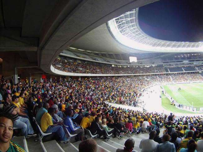 35000 fans out to support Bafana vs Norway at Cape Town Stadium